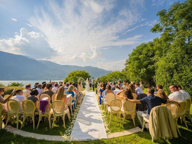 Il matrimonio di Sean e Dominique a Mandello del Lario, Lecco 50