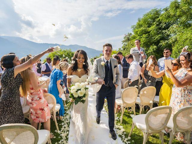 Il matrimonio di Sean e Dominique a Mandello del Lario, Lecco 53