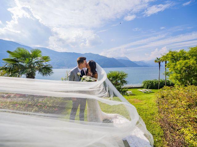 Il matrimonio di Sean e Dominique a Mandello del Lario, Lecco 54