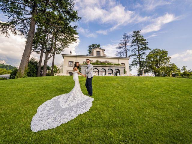 Il matrimonio di Sean e Dominique a Mandello del Lario, Lecco 59
