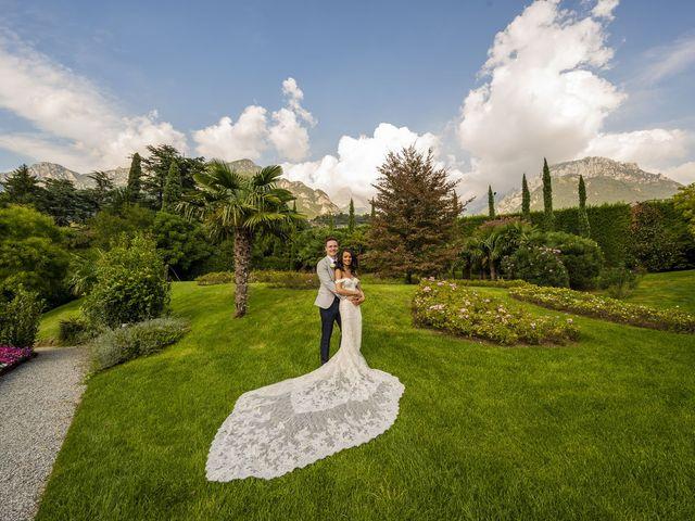 Il matrimonio di Sean e Dominique a Mandello del Lario, Lecco 2