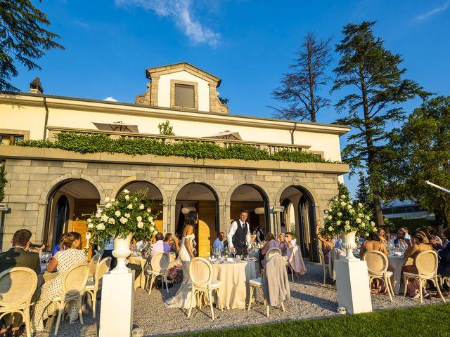 Il matrimonio di Sean e Dominique a Mandello del Lario, Lecco 75