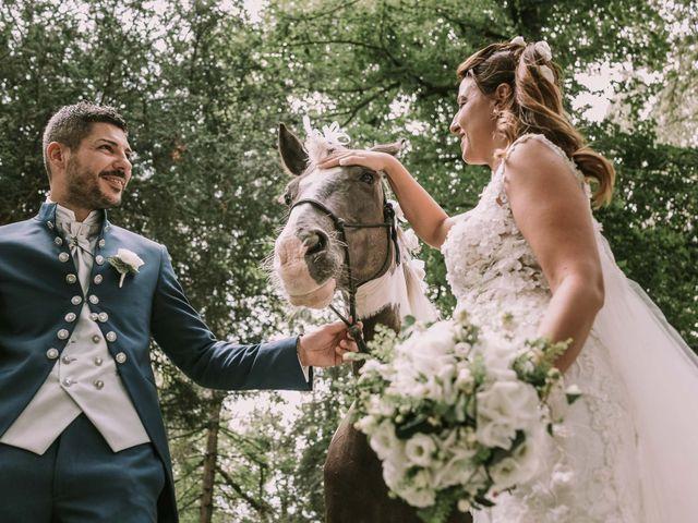 Il matrimonio di Alberto e Melania a Martellago, Venezia 33