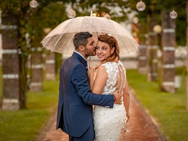 Il matrimonio di Alberto e Melania a Martellago, Venezia 40
