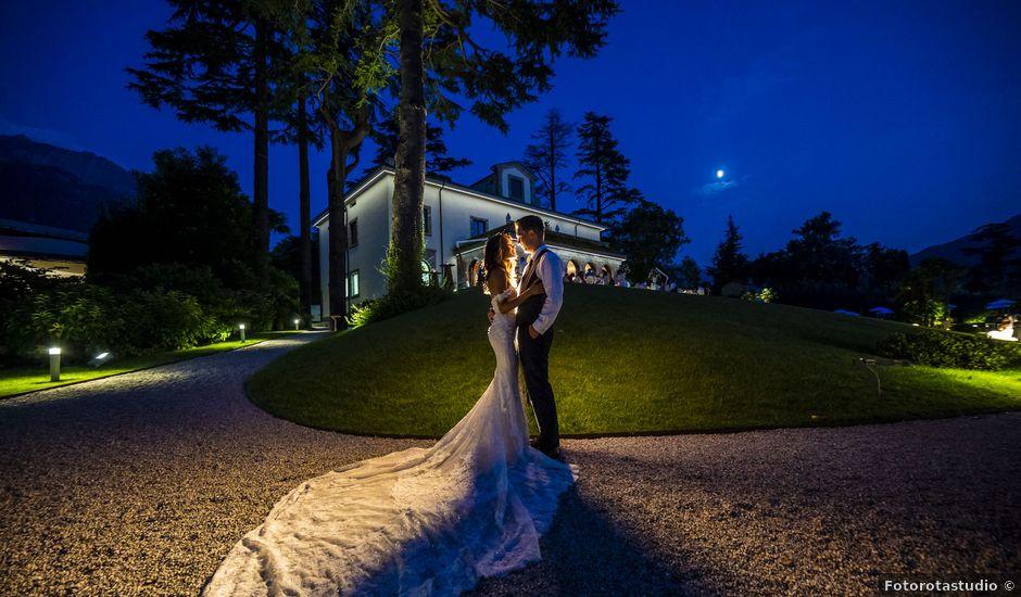 Il matrimonio di Sean e Dominique a Mandello del Lario, Lecco