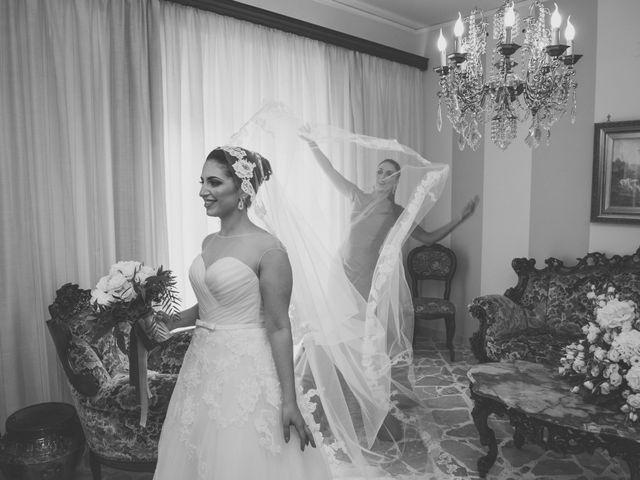 Il matrimonio di Emilio e Angela a Corleone, Palermo 1