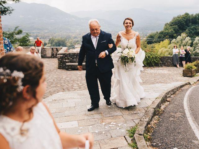 Il matrimonio di Giuseppe e Valentina a Filattiera, Massa Carrara 6