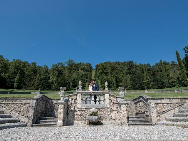 Il matrimonio di Simone e Denise a Cuveglio, Varese 7