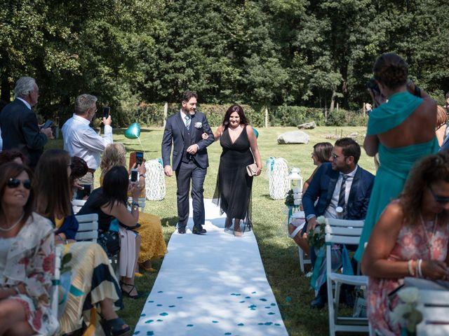 Il matrimonio di Simone e Denise a Cuveglio, Varese 26