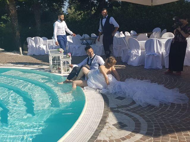 Le nozze di Samantha e Simone