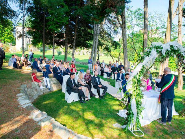 Il matrimonio di Gabriele e Nicole a Roppolo, Biella 28