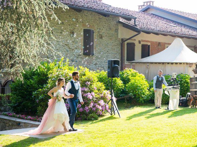 Il matrimonio di Gabriele e Nicole a Roppolo, Biella 39