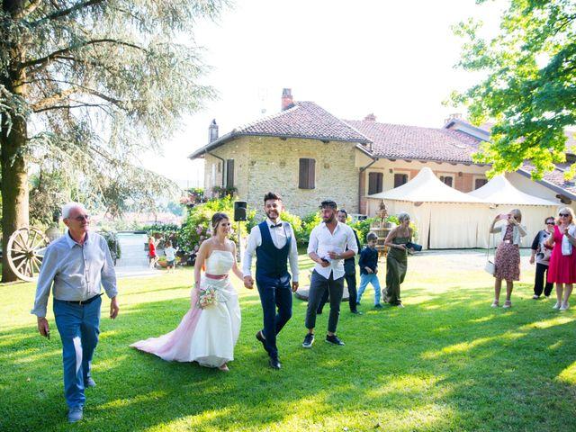 Il matrimonio di Gabriele e Nicole a Roppolo, Biella 40