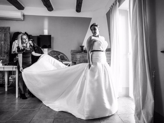 Il matrimonio di Marco e Chiara a Bracciano, Roma 9