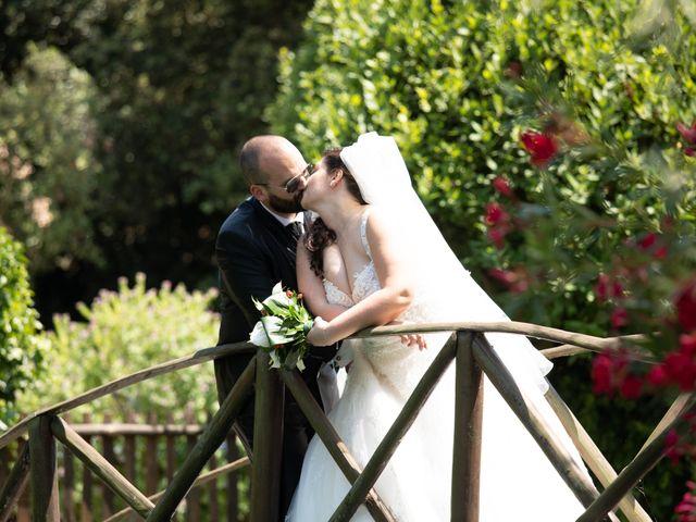 Il matrimonio di Diego e Francesca a Velletri, Roma 1