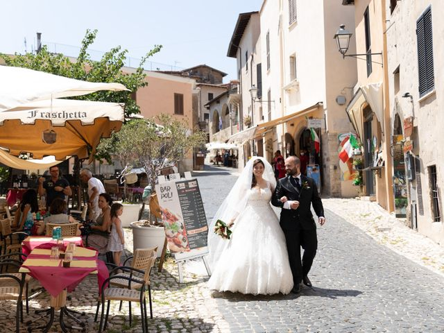 Il matrimonio di Diego e Francesca a Velletri, Roma 34