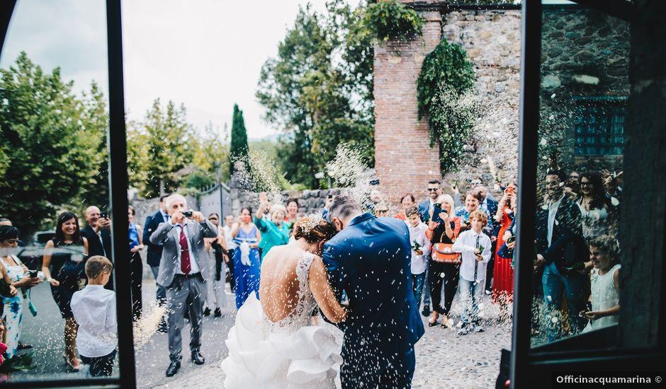 Il matrimonio di Giuseppe e Valentina a Filattiera, Massa Carrara