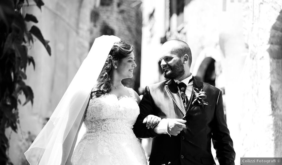Il matrimonio di Diego e Francesca a Velletri, Roma