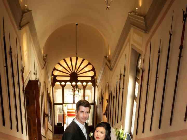 le nozze di Xiwei e Andrea