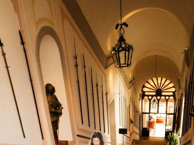 Il matrimonio di Andrea e Xiwei a Cison di Valmarino, Treviso 5
