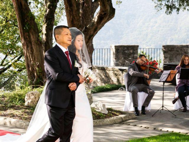 Il matrimonio di Andrea e Xiwei a Cison di Valmarino, Treviso 2