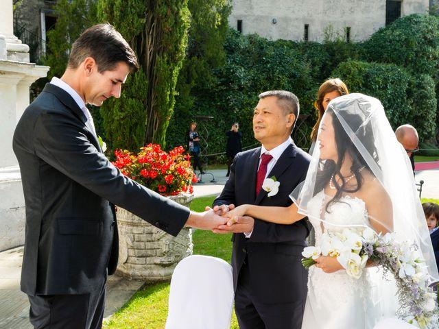 Il matrimonio di Andrea e Xiwei a Cison di Valmarino, Treviso 6