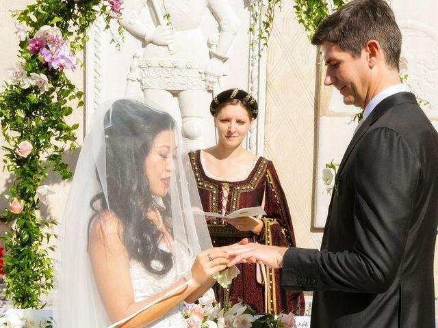 Il matrimonio di Andrea e Xiwei a Cison di Valmarino, Treviso 9