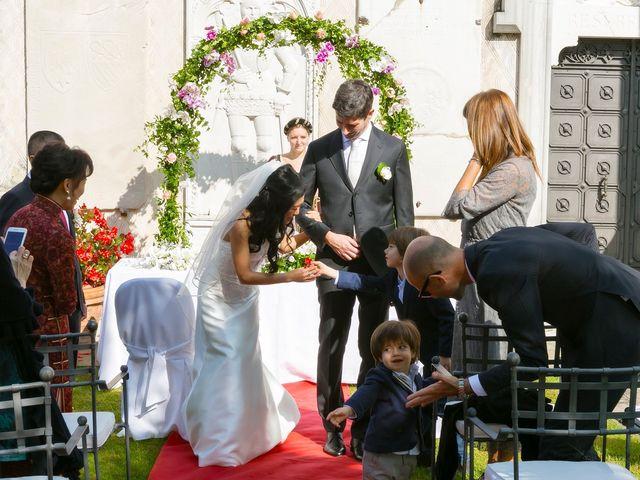 Il matrimonio di Andrea e Xiwei a Cison di Valmarino, Treviso 11