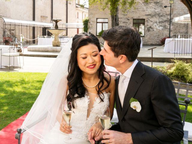 Il matrimonio di Andrea e Xiwei a Cison di Valmarino, Treviso 13