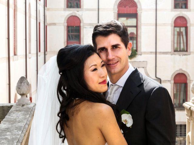 Il matrimonio di Andrea e Xiwei a Cison di Valmarino, Treviso 14