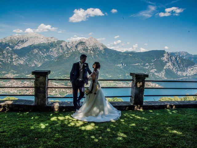 Il matrimonio di Nicola e Michela a Barni, Como 7