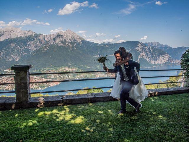 Il matrimonio di Nicola e Michela a Barni, Como 9