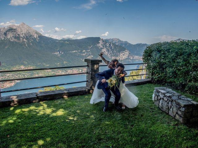 Il matrimonio di Nicola e Michela a Barni, Como 10