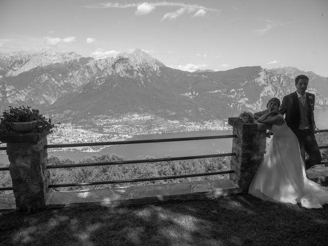 Il matrimonio di Nicola e Michela a Barni, Como 12