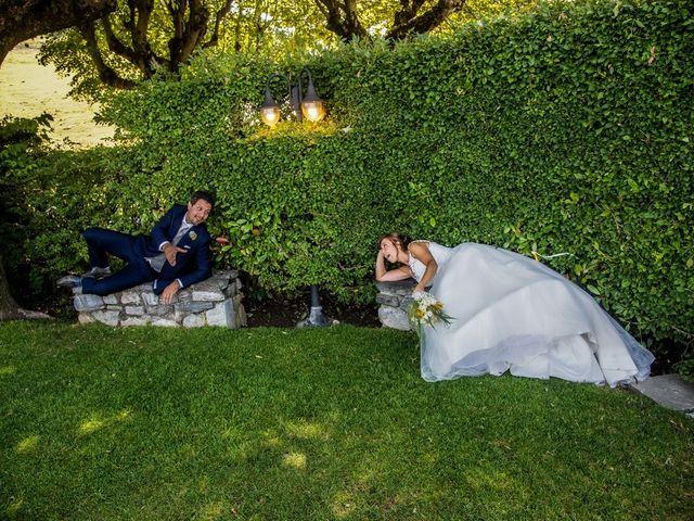 Il matrimonio di Nicola e Michela a Barni, Como 13