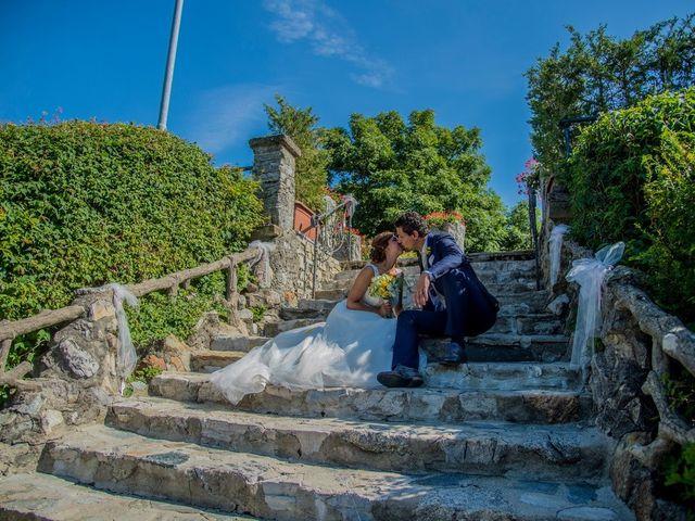 Il matrimonio di Nicola e Michela a Barni, Como 16