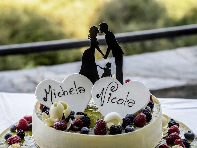 Il matrimonio di Nicola e Michela a Barni, Como 30