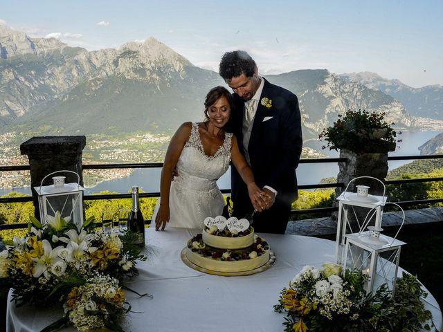Il matrimonio di Nicola e Michela a Barni, Como 31