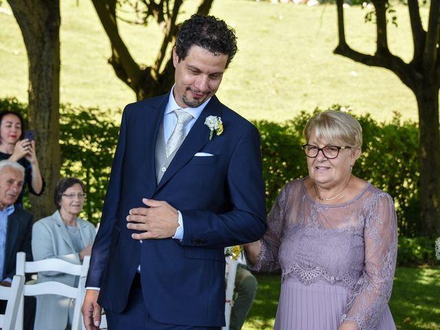 Il matrimonio di Nicola e Michela a Barni, Como 57