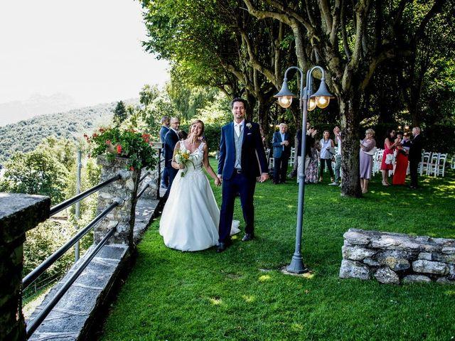 Il matrimonio di Nicola e Michela a Barni, Como 83