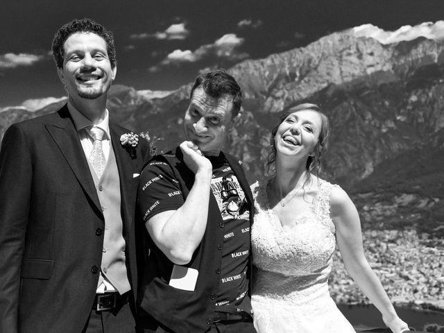 Il matrimonio di Nicola e Michela a Barni, Como 91