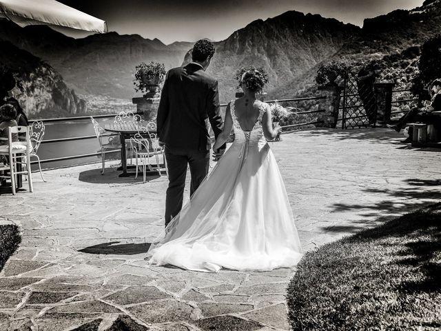 Il matrimonio di Nicola e Michela a Barni, Como 94