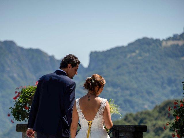 Il matrimonio di Nicola e Michela a Barni, Como 95