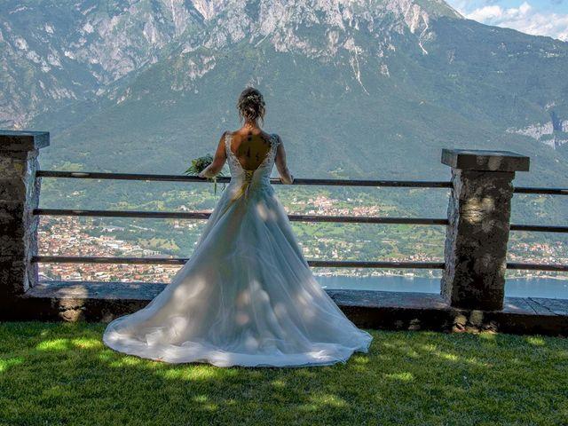 Il matrimonio di Nicola e Michela a Barni, Como 108
