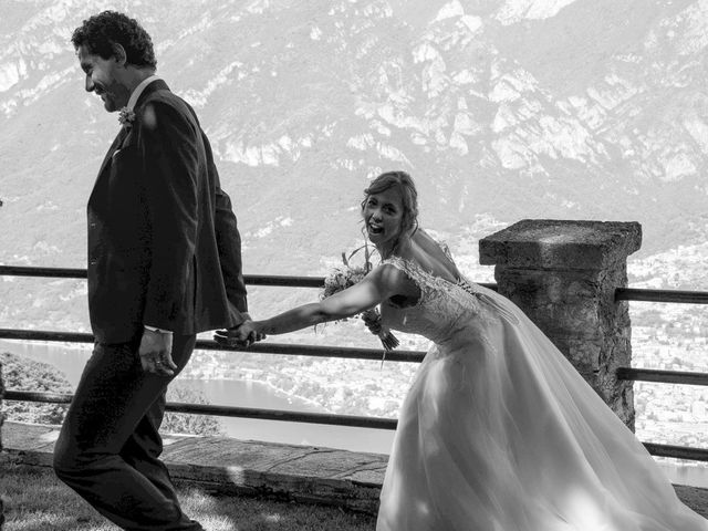 Il matrimonio di Nicola e Michela a Barni, Como 112