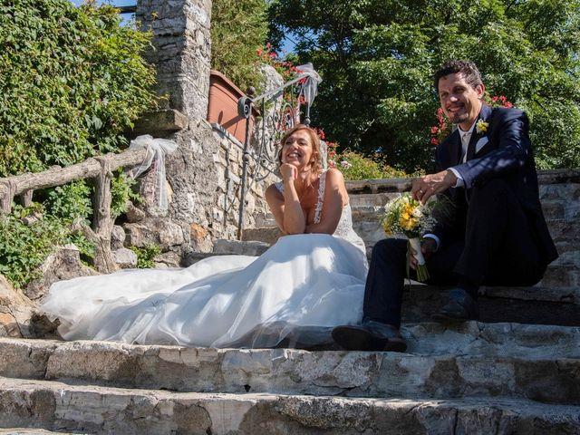 Il matrimonio di Nicola e Michela a Barni, Como 122
