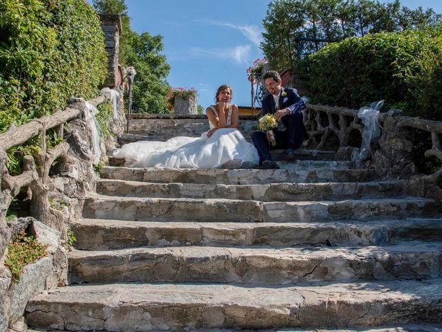Il matrimonio di Nicola e Michela a Barni, Como 123