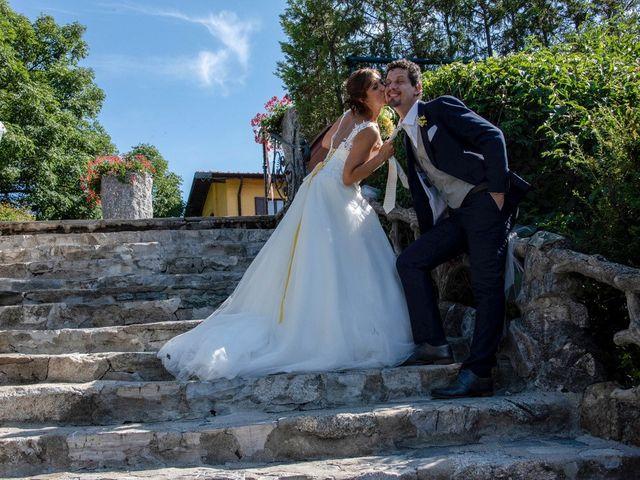 Il matrimonio di Nicola e Michela a Barni, Como 124