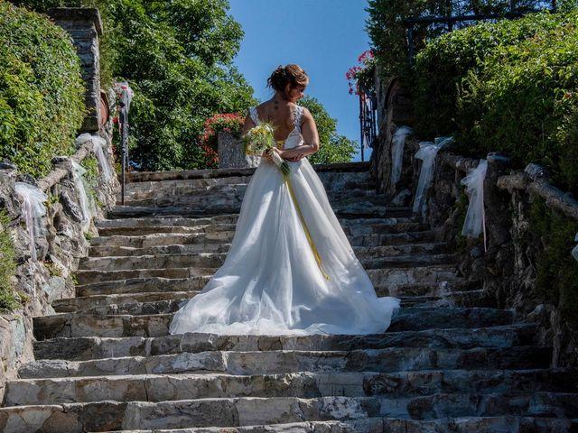 Il matrimonio di Nicola e Michela a Barni, Como 127
