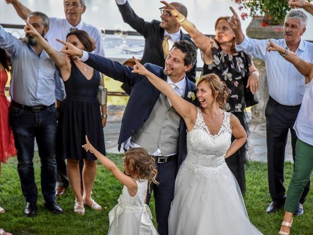 Il matrimonio di Nicola e Michela a Barni, Como 137
